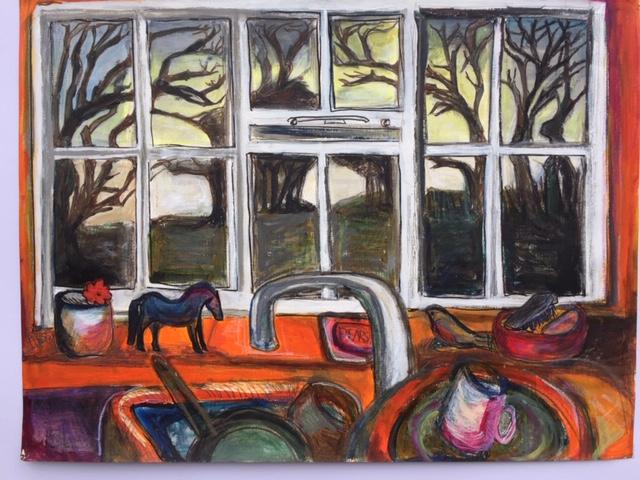 Hanford School-Art for the Art Barn Auction 2