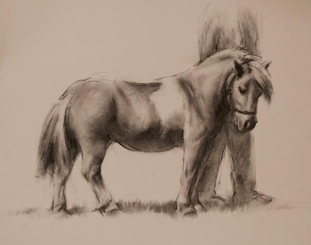 Hanford School-Art for the Art Barn Auction 52