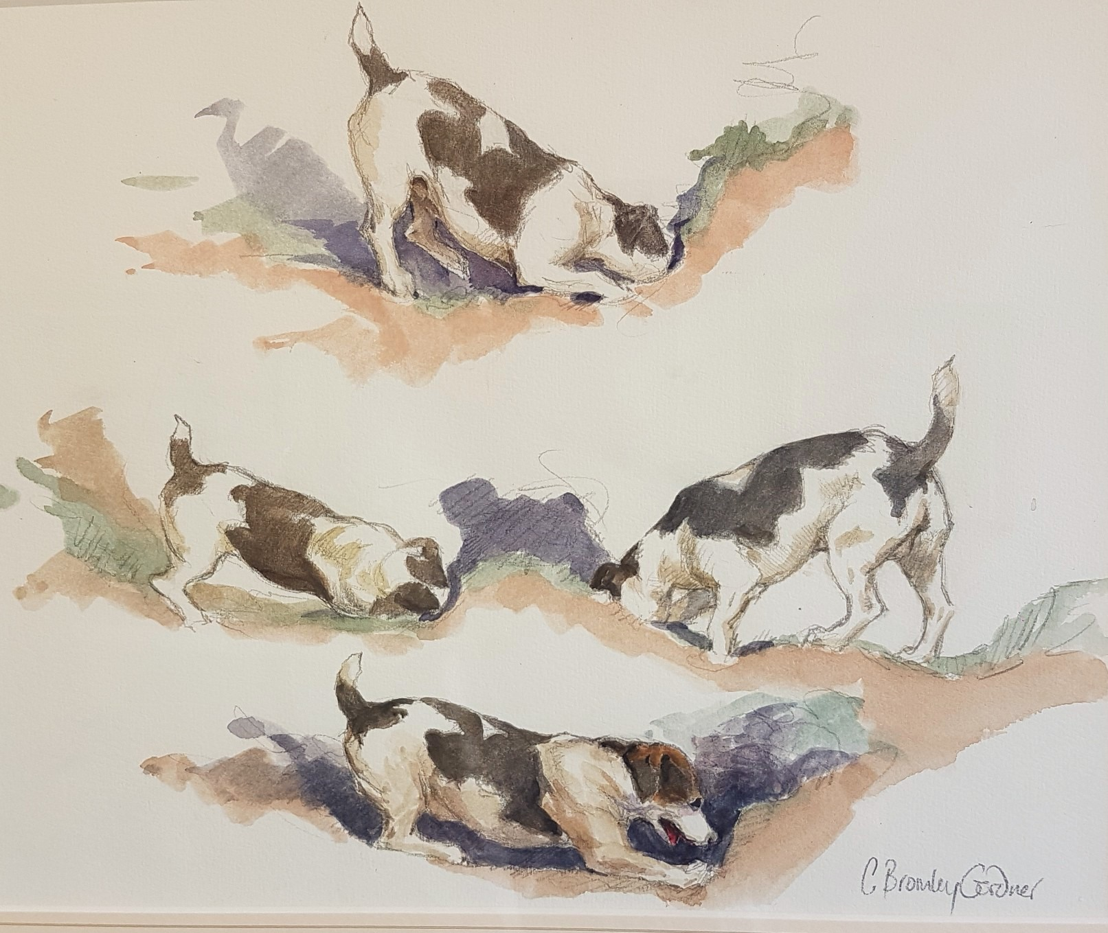 Hanford School-Art for the Art Barn Auction 6